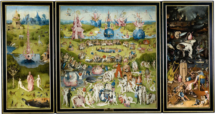 Bosch De Tuin Der Lusten The Garden Of Delights 1504
