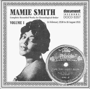 Ohio Born Mamie Smith Not Truly A Blues Singer Although Black Sang Two Numbers Written For Her By Songwriter Perry Bradford That Thing