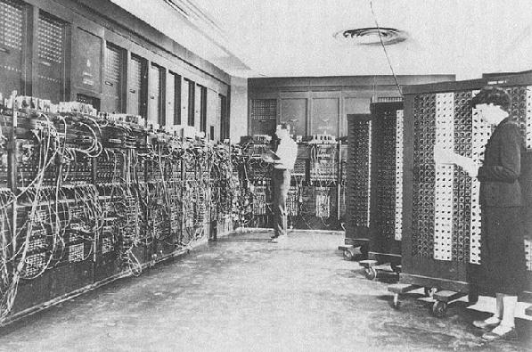 a history of eniac the first electronical digital computer A simulation of the eniac, the first electronic digital computer build in 1945,  simulation and reconstruction of the eniac the electronical  history of.