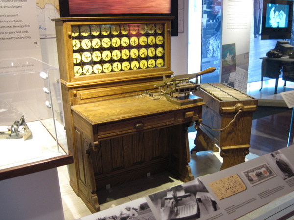 hollerith tabulating machine