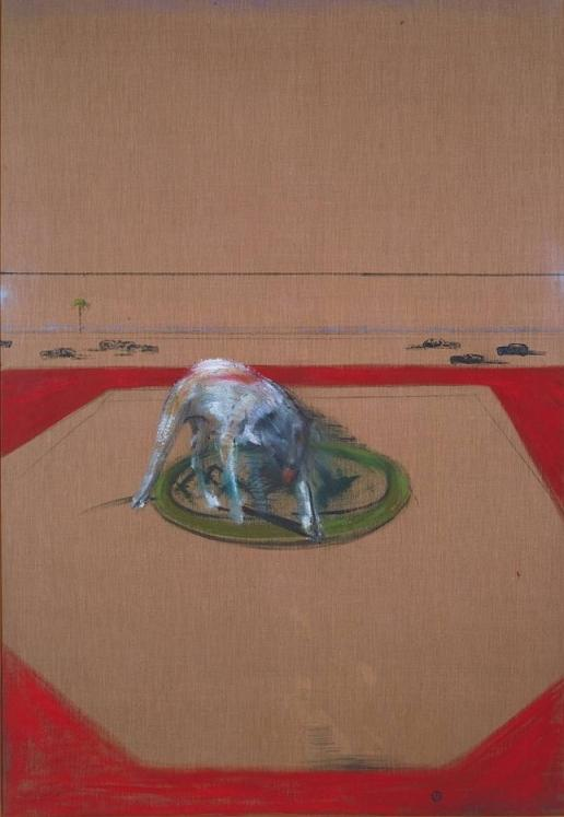 Francis bacon study for a running dog