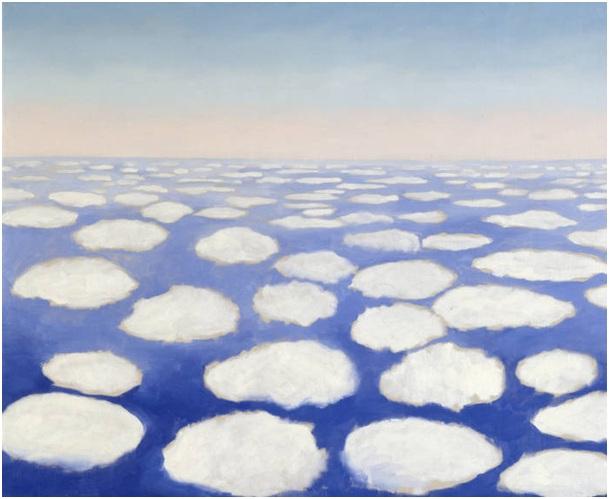 Famous Painting Blue Sky