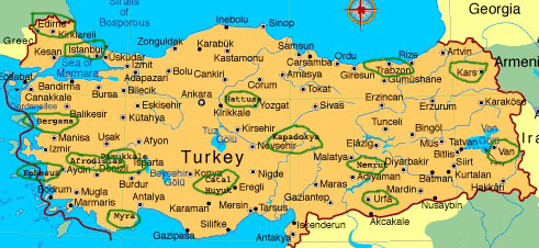 Travel in Turkey and Cyprus